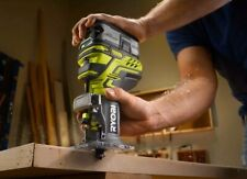 Ryobi P601 ONE+ 18V Palm Router Cordless Micro-Adjust Depth Control *BRAND NEW*