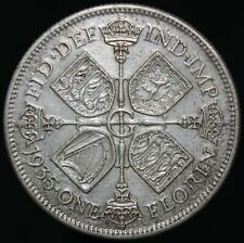 1935 | George V One Florin | Silver | Coins | KM Coins