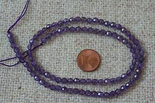 Amethyst-Strang(Kugel, fac.4,5 mm) Q-5434/G