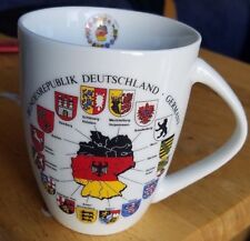 BUNDESREPUBLIK DEUTSCHLAND GERMANY COFFEE TEA CUP.. FAMILY CRESTS OF GERMANY