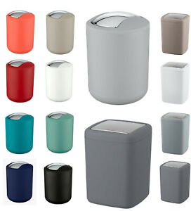 Wenko Mini /Small Swing Bin Kitchen/Bathroom Bin/Compost Caddy/ Table Bin
