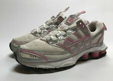Nike Shox Zoom Air 2005 Running Shoes White Pink 311937-103 Womens Size 7.5