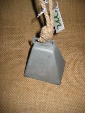 Metal Cow Bell For Rural Farmer Country Christmas Tree Ornament Midwest Cbk