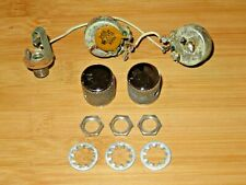 Fender 1974 Nickel Precision Bass Electronic Control Pots Harness