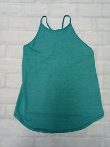 Lululemon Womens Workout Gym Yoga Workout Top in Green Size 2