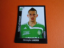 N°407 LANDRIN AS SAINT-ETIENNE ASSE VERTS FOOT 2008 FOOTBALL 2007-2008 PANINI