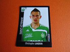N°407 LANDRIN AS SAINT-ETIENNE ASSE VERTS FOOT 2008 FOOTBALL 2007-2008 PANINI