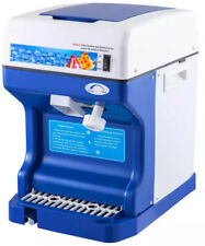 More details for commercial ice shaver/snow cone/slush machine business set up/syrups/cones/spoon