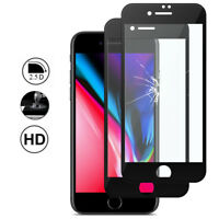 "2x Cristal Protector Apple iPhone 8 4.7"" Película COMPLETA borde curvatura"