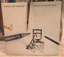 """Paul McCartney """"Pipes of Peace"""" PROMO LP   Gold Stamp   Columbia (1983) Beatles"""