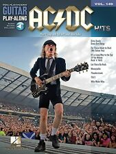 AC/DC HITS PLAY ALONG GUITAR TAB SHEET MUSIC SONG BOOK W/AUDIO