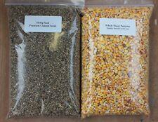 Hemp Seed & Maize Particles 4kg Twin Pack - Unprepared Spod Mix