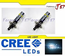 CREE LED 50W H1 WHITE 6000K TWO BULB HEAD LIGHT PLUG PLAY QUALITY REPLACEMENT