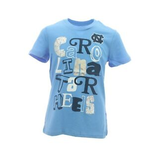 North Carolina Tar Heels Official NCAA Kids Youth Girls Size T-Shirt New Tags