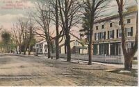 Pleasant Valley New York~Main Street Looking East Vintage Postcard- 1910