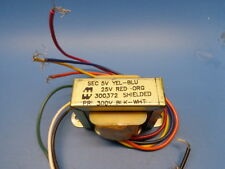 1 Hammond 300372 5v 25v 300v 7 Wire Shielded Pot Transformer Mounting Tabs