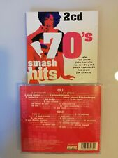 COMPILATION -  70 'S SMASH HITS  (SUPER DOUBLES SD 885372)  DOPPIO CD