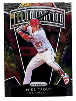 2019 Panini Prizm Mike Trout Illumination insert card Angels
