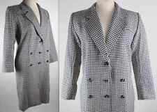 Vintage Yves Saint Laurent Rive Gauche sz 38 / 6 coat dress YSL Paris white navy