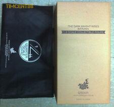 Hot Toys Batman Dark Knight Rises TKDR 1/4 DC Bruce Wayne Sideshow Normal + Bag