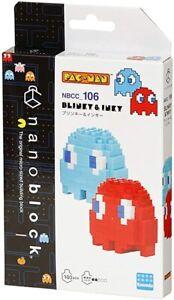 Kawada: Pac-man - NBCC_106 - Blinky & Inky Nano Block NEW!