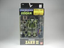 "MSIA Mobile Suit in Action! 1 Year War in 0079 ""MS-06F ZAKUⅡ"" / Gundam  Bandai"