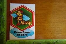 Alter Aufkleber Verkehr KESSY Kesse Biene an Bord