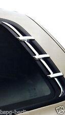 Accesorio para Hyundai Santa Fe 2000-2006 Cromo Parabrisas Columnas C Molding