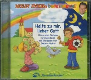"""DETLEV JÖCKER """"Halte zu mir, lieber Gott"""" CD-Album"""