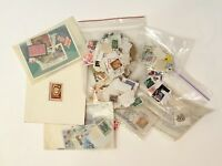 VINTAGE ASSORTED COLLECTIBLE STAMPS AND COINS FAST SHIPPING