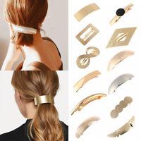 Women Horsetail Headwear Hair Barrette Metal Hair Clip Girls Ponytail Hairpins