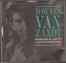 TOWNES VAN ZANDT Pancho & Lefty LIVE & Obscure NEW CD