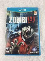 ZombiU (Nintendo Wii U, 2012) Complete - Free Ship