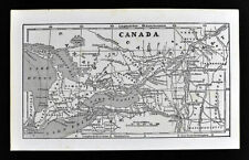1855 Charles Savage Map Canada East West Ontario Quebec Toronto Montreal Antique