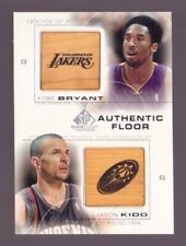 Kobe Bryant Jason Kidd Dual Authentic Floor 2000-01 SP Game Edition #C16 Card