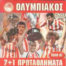 Olympiakos FC Soccer Greek Champion 1980 1981 DVD HIGHLIGHTS Anastopoulos Lemoni