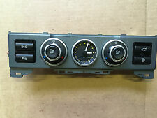 Land Rover Range Rover Clock Parking Aid Heater Switch Panel YFB000092 TESTED