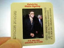 More details for original press photo slide negative - george michael - 1992 - c