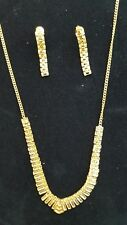 22k necklace set with earrings