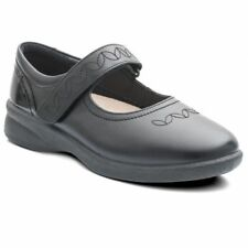 Padders Sprite 2 633n Wide Fit Mary Jayne With Removable Insole Black UK 4