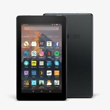 """All New Kindle Fire 7 Tablet ALEXA 7"""" Display 8 GB-7th GEN-Black-Blue-Red-Yellow"""