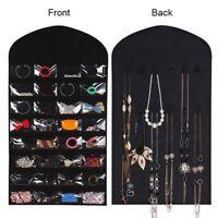 Hanging Jewellery Organiser Closet  Jewelry organizer Hanger & Earring Storage M