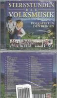 CD--VARIOUS--STERNSTUNDEN DER VOLKSMUSIK- POLKAFEST IN DEN BERGEN   DOPPEL-CD