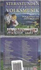 CD--VARIOUS--STERNSTUNDEN DER VOLKSMUSIK- POLKAFEST IN DEN BERGEN | DOPPEL-CD