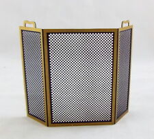 Metal Fire Screen , Dolls House Miniature 1:12th Scale, Fireplace, Fire