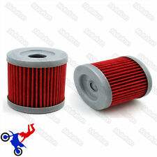 2x Oil Cleaner Fuel Filter For Sinnis Apache 125 QM125GY 125cc K157FMI