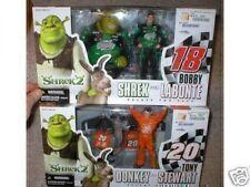 SHREK 2 DONKEY AND SHREK WITH LABONTE & STEWART MIBS