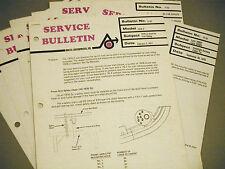 New listing 1977 Vintage Arctic Cat Dealer Service Bulletins Complete Set Of 7