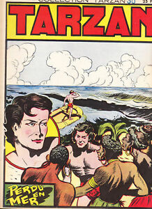 Collection TARZAN n°30. Editions Mondiales. 1947. TBE