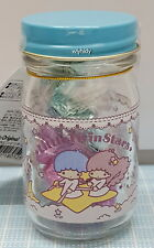 Sanrio Little Twin Stars Candy Glass Container Japan Limit    , h#1